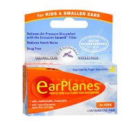 Earplanes Earplanes Childrens Ear Plugs Disposable