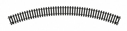 Hornby R607 Double 2nd Radius Curve HO/OO Gauge, 45-Degree