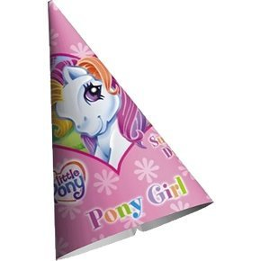 My Little Pony Party Hats 8ct by American Greetings