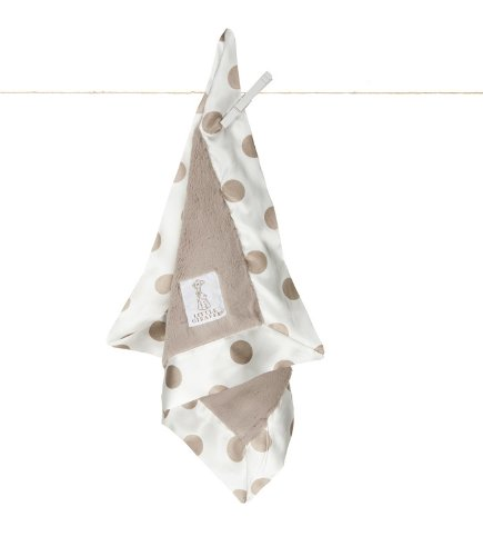 Little Giraffe New Dot Luxe Blanky - 1