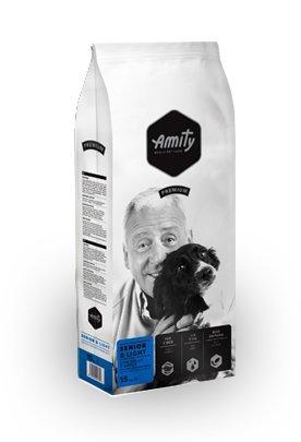 CROCCHETTE AMITY SENIOR-LIGHT DA KG 15 alimento completo per cani