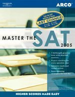 Master The Sat, 2005/E W/O Cd-Rom (Peterson'S Master The Sat (Book Only))