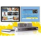 "Auvisio Digitaler Satelliten-Receiver PX-1131 (HDMI, USB-Recorder) silbervon ""Auviso"""