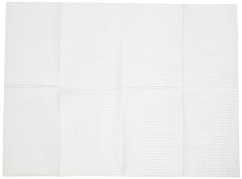 Continental 8255 White Disposable Changing Station Bed Liners (Case Of 500) front-126887