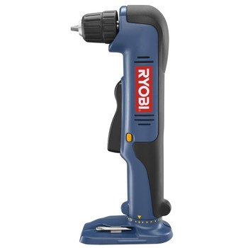 """Factory-Reconditioned Ryobi ZRP240 ONE Plus 18V Cordless Right Angle """"Close Quarters"""" Drill (Tool Only)"""