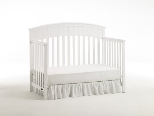 Graco Charleston Non-Drop Classic Crib, White