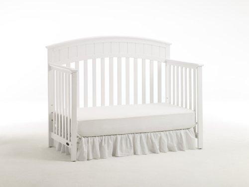 Graco Charleston Non-Drop Classic Crib, White