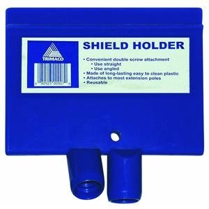 Trimaco 06125 Cardboard Paint Shield Clip Holder with Wooden Handle for Use with Trimaco 01031