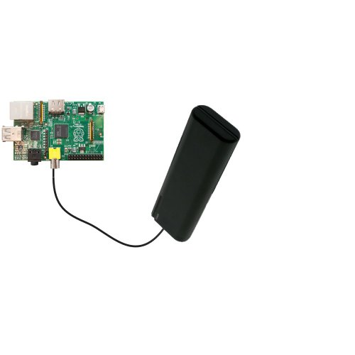 Gomadic Portable AA Battery Pack for the Raspberry Pi Board - Powered by 4 X AA Batteries to provide Emergency charge. Built using TipExchange Technology
