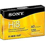 Sony 120 minute Hi8 1-Pack