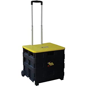 Dbest 00-011 Quik Cart Two-Wheeled Collapsible Handcart with Lid