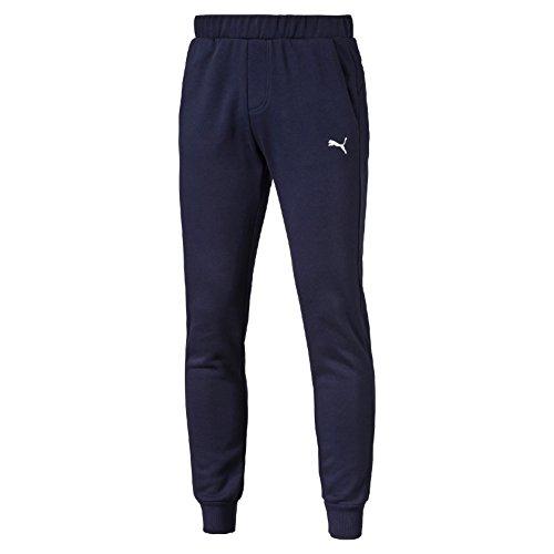 Puma Ess Sweat Slim Fl Pantalone Sportivo Peacoat - Blu (Peacoat) - S
