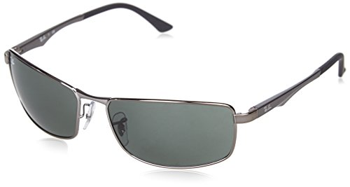 ray-ban-mod-3498-gafas-de-sol-para-hombre-color-gris-matte-gunmetal-green-talla-61