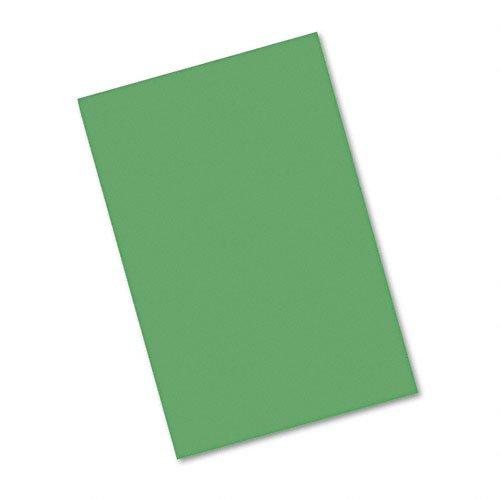 Riverside Paper Groundwood Construction Paper, 12in. x 18in., Dark Green - 1