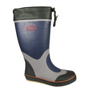 Mens Boys Seafarer boat yacht Wellies M135 Navy-Grey UK7