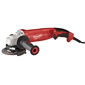 Milwaukee 6122-30 4-1/2-Inch Trigger Grip Small Angle Grinder