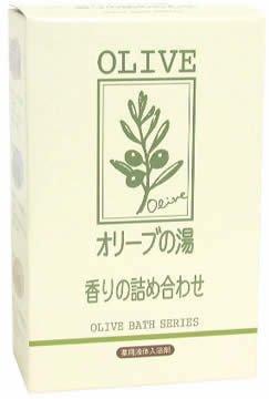 薬用オリーブの湯 香りの詰合せ12ml×2包×4種