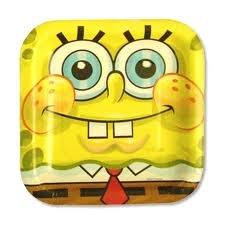 "Spongebob Squarepants Classic 7"" Dessert Plates 8ct"