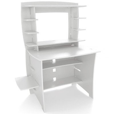 "36"" Kids Multi-Pack Desk/Hutch - White"