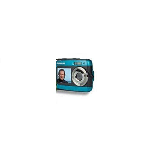 Polaroid IF045-BLUE-KM 14MP Dual Screen Waterproof Digital Camera with 2.7-Inch LCD (Blue)