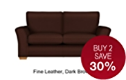 Lincoln Medium Sofa - Leather