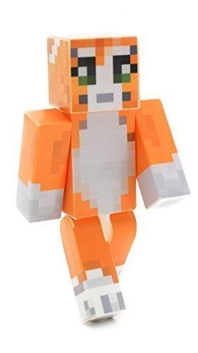 "Stampy - 4"" Action Figure Toys | Mine V2 | Magic Animal Club | Plastic Craft"