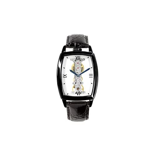 ARCA FUTURA アルカフトゥーラ 手巻き スケルトン 腕時計 メンズ S13386BBK
