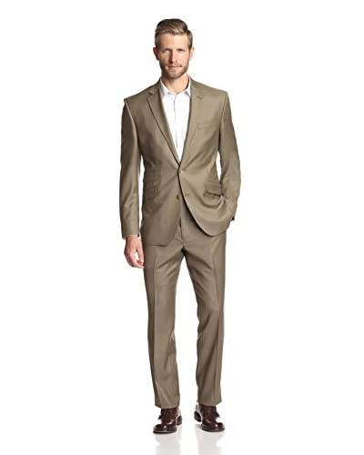 Kenneth Cole New York Men's Two Button Notch Lapel Suit