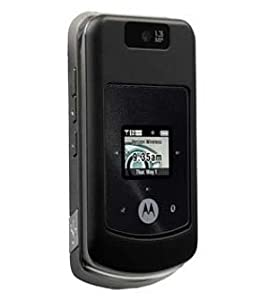 Motorola W755 Cell Phone, Black (Verizon)