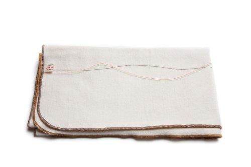 Dress Me Up Organic Cotton Receiving Blanket (Caramel)