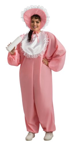Adult Plus Size Baby Girl Costume Size (16-20) front-1039109
