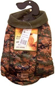 AKC Outdoor Series Dog Apparel Camo Jacket Large