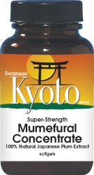 Swanson Super-Strength Mumefural Concentrate 300 mg 60 Sgels