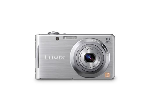 Panasonic Lumix DMC-FH5 16.1 MP Digital Camera with 4x Optical Image Stabilized Zoom with 2.7-Inch LCD (Silver) (Panasonic Dmc Fh5 compare prices)