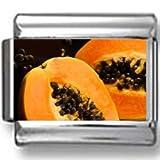 Pitted Peach Halves Photo Italian Charm