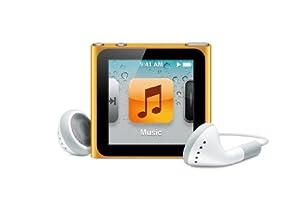 Apple iPod nano 16GB - Orange - 6th Generation (Launched Sept 2010)