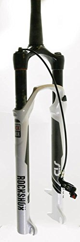 RockShox SID XX Tapered Steerer Xloc Remote Right World Cup Solo 100mm Air Fork, White, 26-Inch