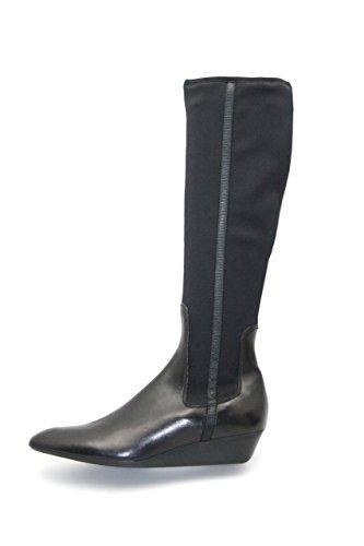 Prada Womens 3W3832 Leather Boots