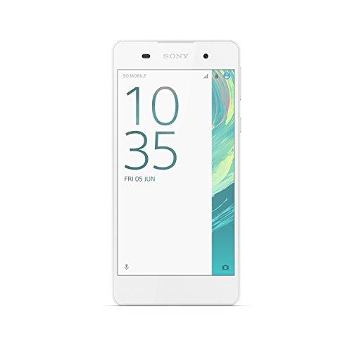 Sony Xperia E5 Smartphone, 16 GB, Bianco