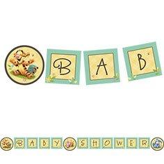 Baby Winnie The Pooh Birthday Banner front-1035490