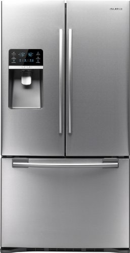 Samsung RFG297HD 29 Cubic Foot French Door Energy Star Refrigerator with Cool Select Pantry, Exte