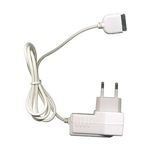 Bluetrade Chargeur secteur / voyage 220V blanc pour Apple Ipod Iphone Iphone3g