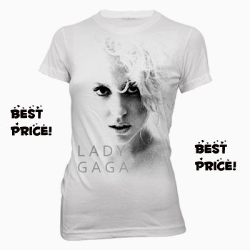LADY GAGA SHIRTS - GAGA T-SHIRTS - LADY GAGA T-SHIRTS - GAGA SHIRTS - Lady Gaga Glamour Puss Tee