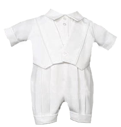 e9f868d0817 We have exclusive deals for Laura Ashley Christening Outfit Gabardine  Vested Romper White 12 months (17-22 lbs.). It is incredibly affordable now.