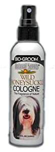 Bio-Groom Natural Scents Dog Cologne, Wild Honeysuckle, 4-Ounce