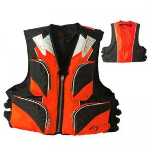 Bargain life jacket FV-6001 Orange x black (for floating best adult)