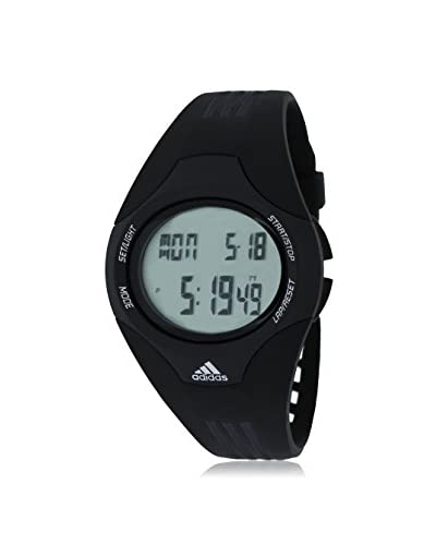 Adidas Mens Black/Digital Plastic Watch