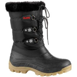 Womens Olang Patty Snow Boots (UK Adult 4 / 5, Black)