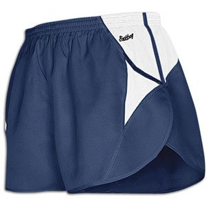 Eastbay Eastbay Two Color Half-Split Short - Men's ( sz. L, Navy/White )