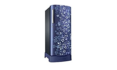 Samsung RR19H1834VL/TL Direct-cool Single-door Refrigerator (182 Ltrs, Blue)